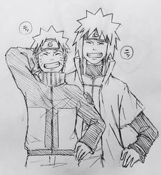 Like Father Like Son #naruto #minato