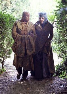 Varys and Olenna Tyrell, conspirators