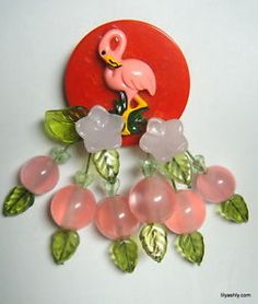 flamingo bakelite - Google Search