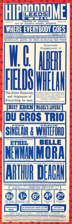 NEW : Leeds playbill