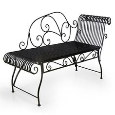 HLC Antique Metal Garden Bench Recamiere Left Chair,Black... https://www.amazon.co.uk/dp/B01I6P1SA6/ref=cm_sw_r_pi_dp_U_x_Tw6RAbJB5R3VR