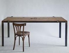mesa con patas de hierro - Buscar con Google