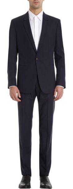 Maison Martin Margiela Solid Two-Piece Suit at Barneys.com $1,625