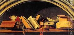 Books, fragment of Isaac by Barthelemy d' Eyck