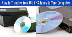 How to Transfer Your Old VHS Tapes to Your Computer {Easy tutorial}