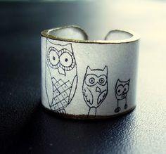Aww i love owls oh soooo much!