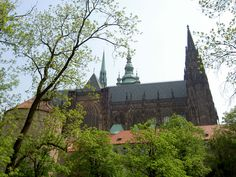 Hradcany is the castle district of the city of Prague, Czech Republic, surrounding the Prague Castle.