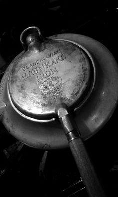 Norwegian Krumkake iron  by Lindsay Spencer www.celiaceats.com