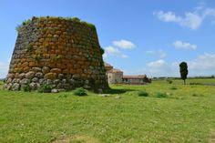 nuraghe monotorre di Santa Sabina a SILANUS (Nuoro) - (OM)