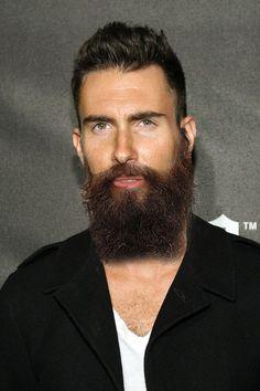I dig Adam Levine with the beard.