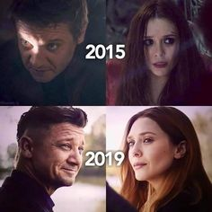 Avengers - Hawkeye and Scarlet Witch Marvel Avengers, Wanda Marvel, Avengers Memes, Marvel Funny, Marvel Memes, Marvel Girls, Captain Marvel, Scarlet Witch Marvel, Marvel Captain America