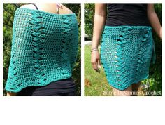 St Croix Beach Wrap.  Free pattern, can be work as a wrap or a shawl.