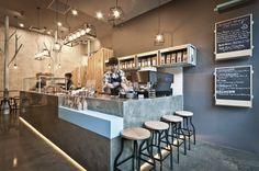 foorni.pl | Bar Raw Trader w Melbourne, stołki barowe