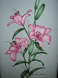 lirios desenhos e pinturas - Pesquisa Google