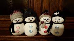 Snowman - Hóember zokniból