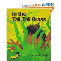 Book, In the Tall, Tall Grass by Denise Fleming