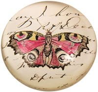 "entomology decorations | Butterfly (Pink)"" paperweight and ""Freshwater Frog"" tray by John ..."