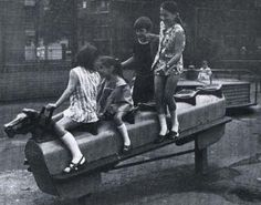 Had lots of fun on this as a kid, never saw anyone get hurt. Rocking horse in a playground. Too dangerous now. You had to hold on really tight when it rocked fast. 1970s Childhood, My Childhood Memories, Childhood Toys, Childhood Images, Swing And Slide, Thing 1, I Remember When, Teenage Years, My Memory