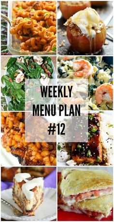 We are on week TWELVE of our weekly menu plan! We hope you have been enjoying each week of the recipes specifically designed to help you in your recipe planning. We have gotten together with some of our favorite food bloggers to bring you this custom weekly menu plan. We will all be sharing …