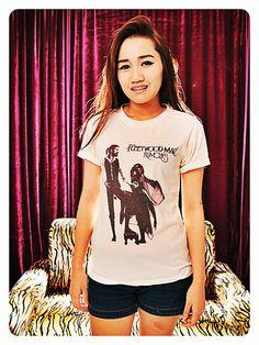 6d424675bfe79 Fleetwood Mac Shirt Rock Women TShirt Off White by WeAreYoungShop