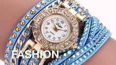 Relógios Maravilhosos ❤ A partir de R$ 42,36. O frete é grátis e você pode pagar tudo no site em até 10x sem juros no cartão. Compre Agora https://shoppingpremium.com.br/relogiopulseira-amorverdadeiro e https://shoppingpremium.com.br/relogio-pulseira-brilho-da-paixao