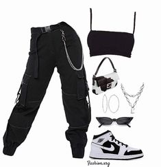Teenage Outfits, Swag Outfits For Girls, Cute Swag Outfits, Cute Comfy Outfits, Teen Fashion Outfits, Retro Outfits, Stylish Outfits, College Outfits, Fashion Fall