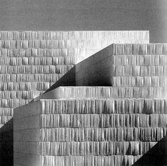 Miguel Fisac, Centro cultural Castilblanco de los Arroyos #fabricformwork