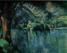 paul cezanne   Paul Cézanne: See von Annecy   Le lac d´Annecy (1896)