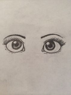 how to..draw eyes