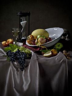 Dutch Masters Inspired Still Life by Scott Peterson, via Behance