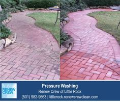 http://littlerock.renewcrewclean.com/pressure-cleaning – Making a patio or stone walkway look new again requires more than just a pressure washer. While this method can blast away surface dirt, it won't lift deeper grim out of the stones and crevices. Trust Renew Crew of Little Rock for all your stone, brick, wood and patio power washing needs. We serve Little Rock plus Conway, Benton and Pine Bluff AR. Free estimates.
