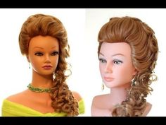 ▶ Wedding hairstyle, hairstyle for prom. PROM Wedding hairstyle for Long hair - YouTube
