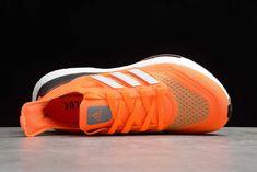New Adidas Ultra Boost, New Shoes, Adidas Women, Kicks, Adidas Sneakers, 21st, Orange, Blue, Slippers