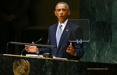Obama never misses a chance to take a shot at Israel, and today's speech at the United Nations General Assembly was no exception. Why is there no peace in the Middle East according to Obama? Because Israel refuses to make peace. Shameful. #IsraelUnderFire http://www.nowtheendbegins.com/blog/?p=26229