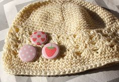 Strawberries and Cream   Cute Crochet Little Kids by willowbeshop, $15.00