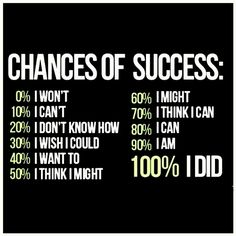I just love this one.. so dearly. Chances of success ...  #smallbiz #startups #entrepreneurs