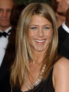Jennifer Aniston Hairstyle 100%Human Hair Clip in Hair Extension about 16inches Straight Sexy : wigsbuy.com