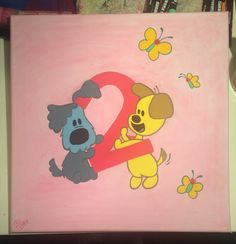 #PinkyArt #Woezel&Pip