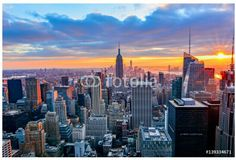 New york, usa, stock image - skyline New York Travel Guide, New York City Guide, Best Shopping Sites, Nyc, Night City, Travel Essentials, Montage, Vacation Destinations, Empire State Building