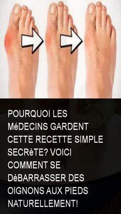 Pourquoi les médecins gardent cette recette simple secrète? Voici comment se débarrasser des oignons aux pieds naturellement! Cancer, Health Fitness, Voici, Solution, Questions, Salts, Bunion Remedies, Foot Pain, Health And Fitness