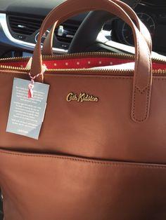 New leather Cath Kidston bag ❤️