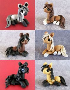 Natural Ponies by DragonsAndBeasties.deviantart.com on @deviantART