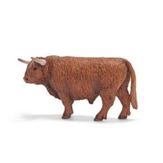 Schleich Scottish Highland Bull ($5.53)