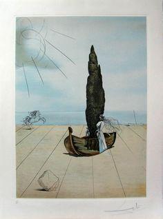 """Salvador Dalí: """"My Cousin Carolineta"""" 236/300 - Subasta Real"""