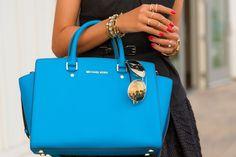 Baby Blue Michael Kors purse