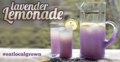 How to Make Lavender Lemonade