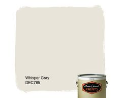 Dunn-Edwards Paints paint color: Whisper Gray DEC785 | Click for a free color sample #DunnEdwards