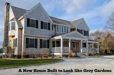 Replica of Grey Gardens in Cape Cod | hookedonhouses.net