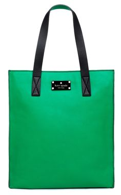 We have a new Color of the Year for 2013: Emerald,a clear, radianthue that'sreminiscent of rare gemstones and lush jungle tones. Cotton Candy has chosen this fun emerald tote from Kate Spade New York as a funky way to include the color of prosperity into your wardrobe. Just click the photo for more of our fashion finds.