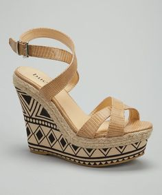 Beige Rosamond Wedge